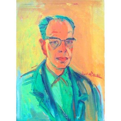 Jan Lucas van der Baan - Zelfportret- de Ploeg