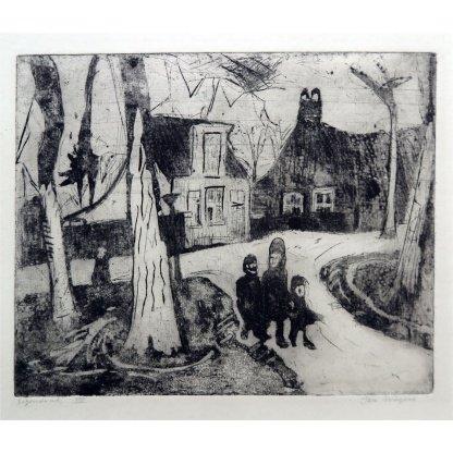 Jan Wiegers-Kinderen in het bos-de Ploeg