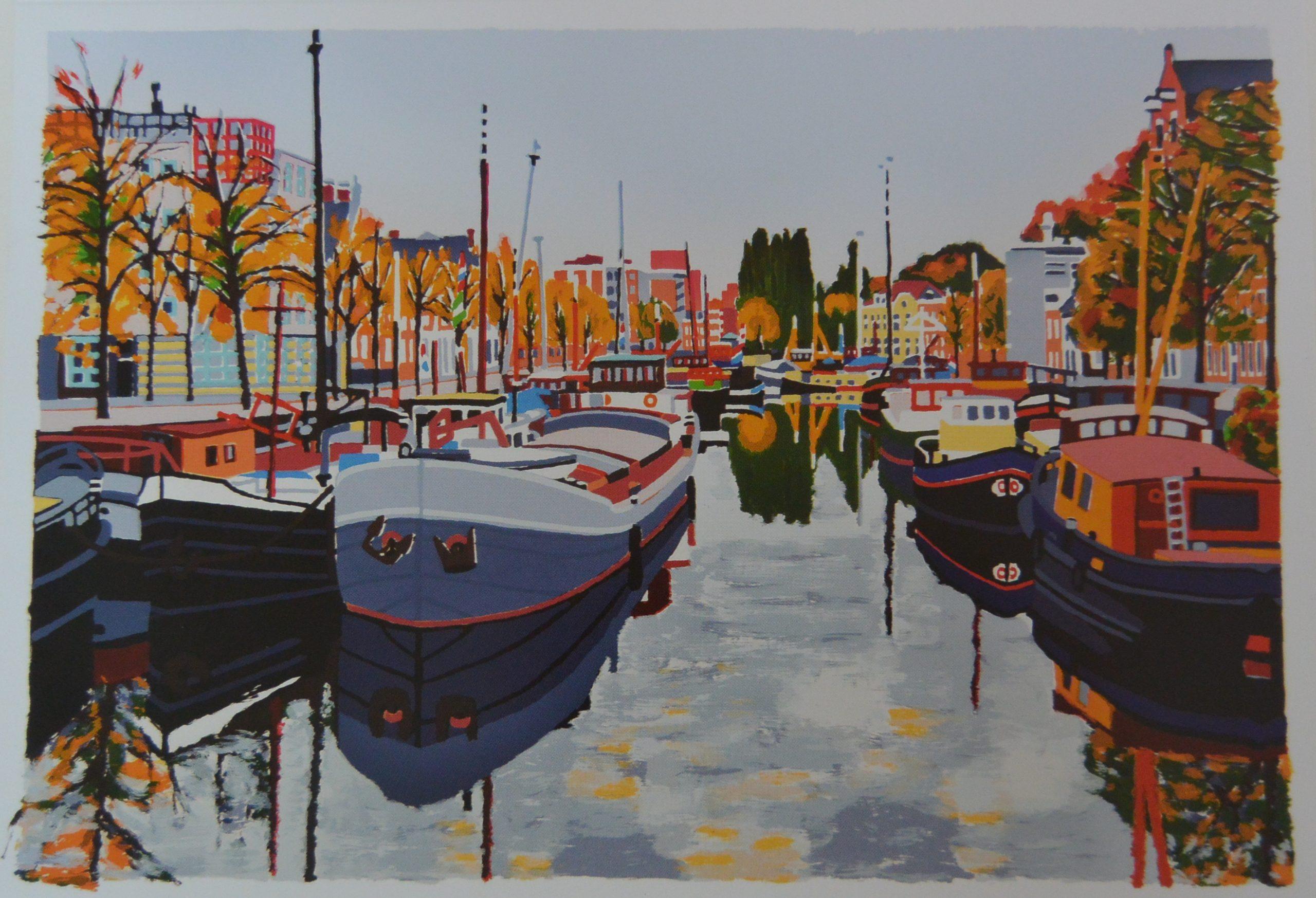 A.S-003 - Anke Slooff, Twee Gebroeders, Noorderhaven najaar