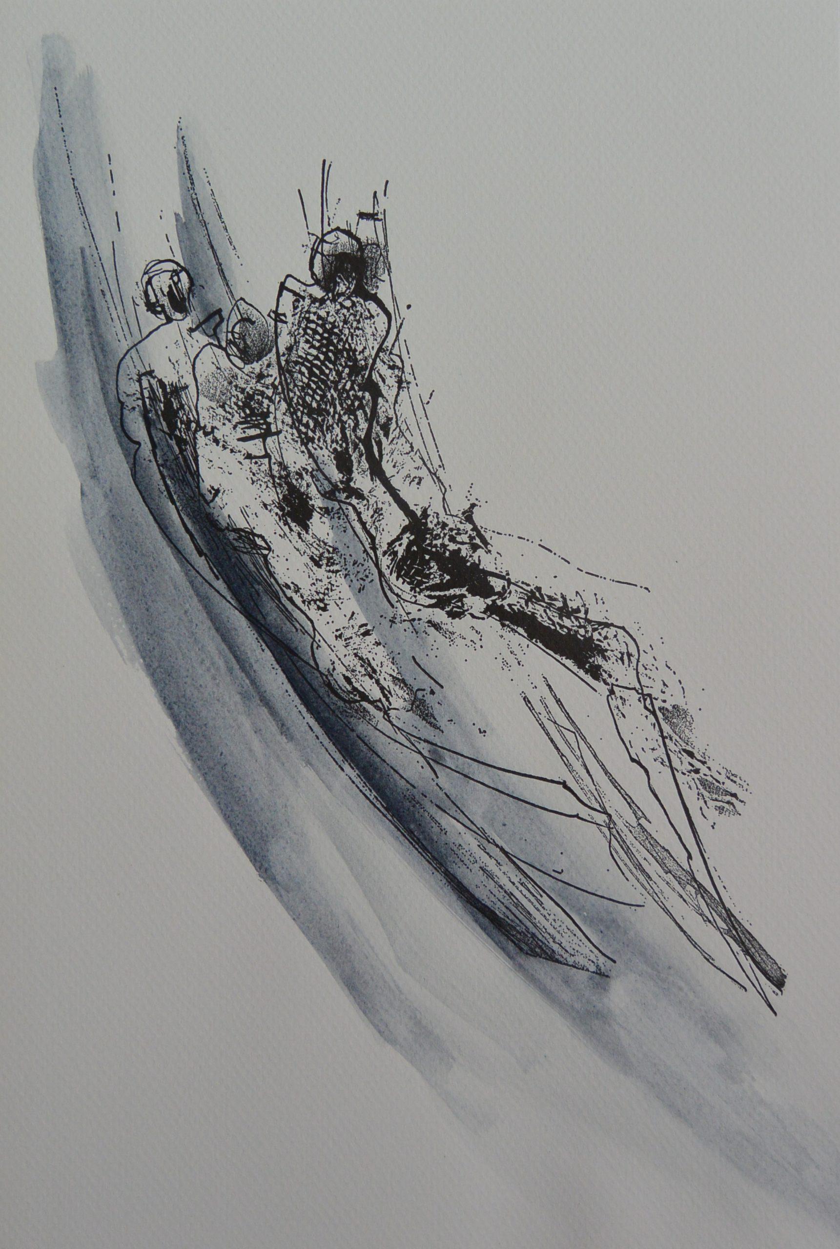 J.S-002 Jan Steen, figuren diagonaal blauw