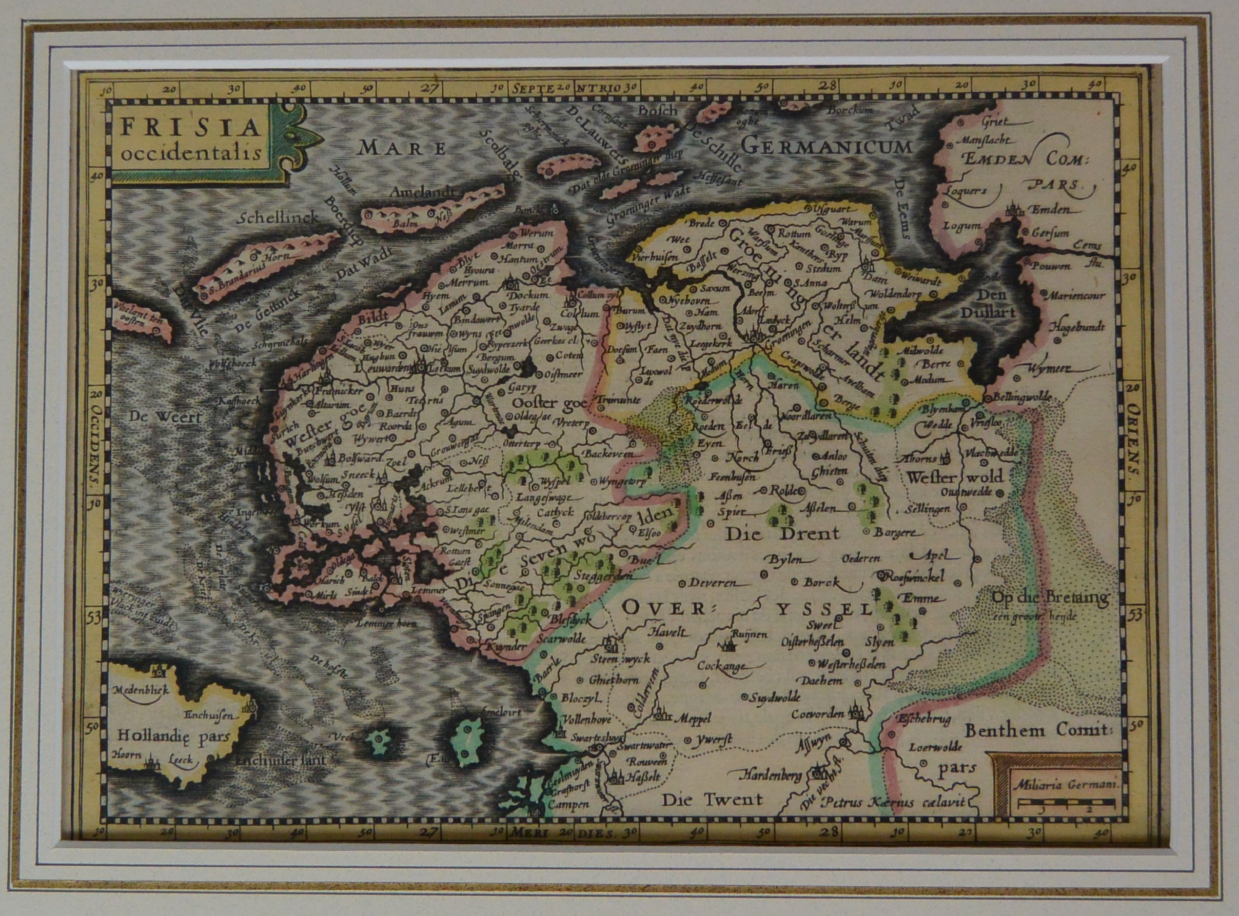 KeH-002-2.1 Kaart Frisia voorzijde